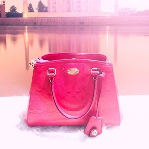 COACH SMALL CROSSBODY BAG PINK/RUBY [NWT]